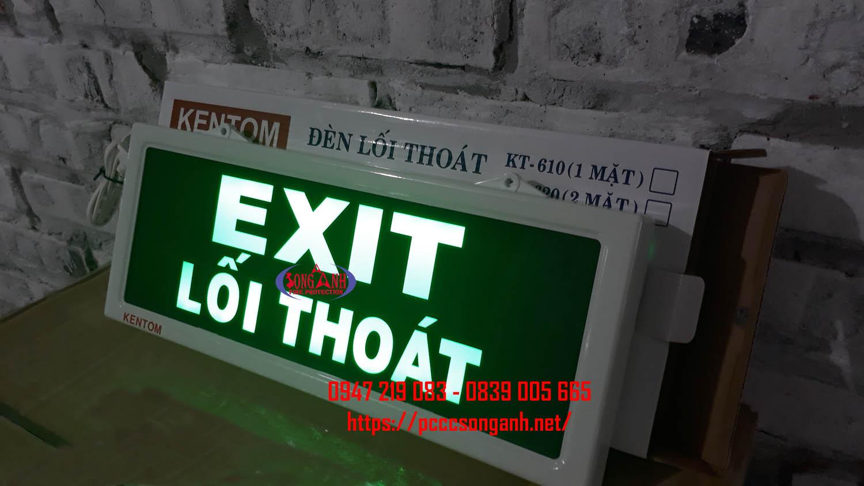Đèn chỉ lối thoát hiểm Kentom KT610-10