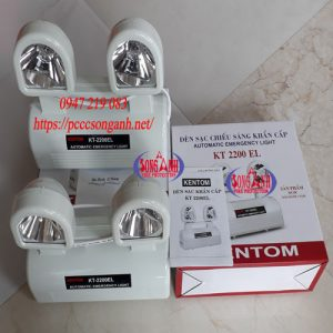đèn sạc chiếu sáng khẩn cấp Kentom KT 2200EL