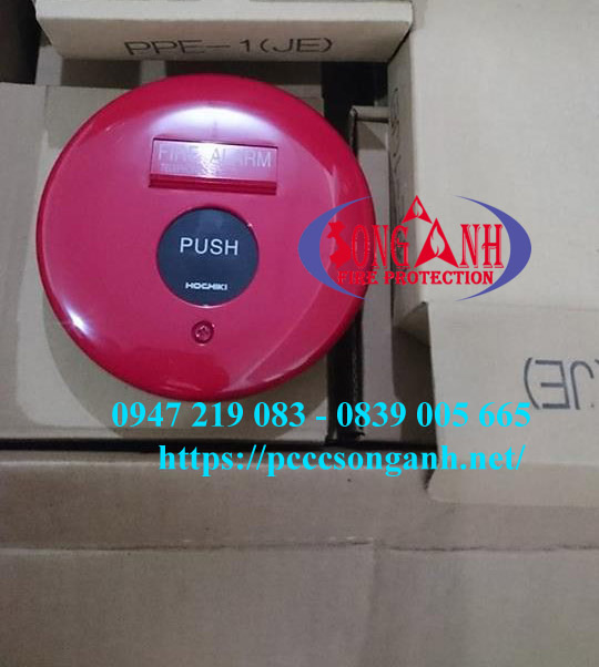 Nút Ấn Báo Cháy Hochiki PPE-1 (JE)/PPE-2(JE)