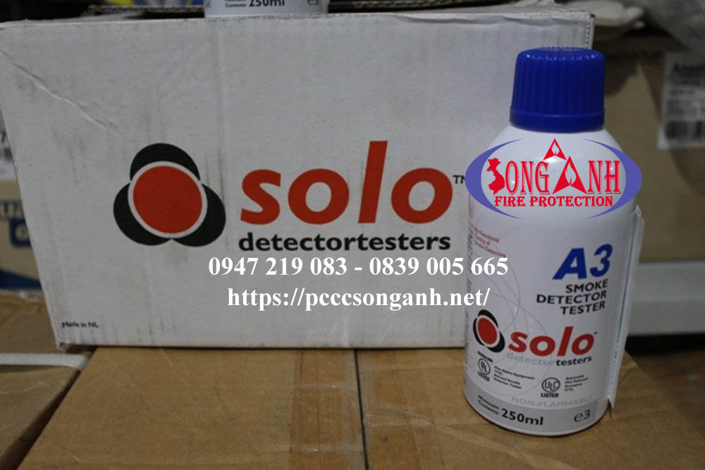 Chai tạo khói SOLO-A3 dùng cho SOLO-330